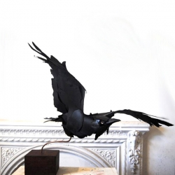 Raven is just one of Anna Wili Highfield's gorgeous paper sculptures.
