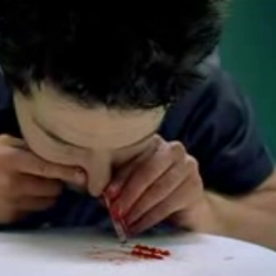 Maybe the best  anti- cocaine video on the web (not for those who don't like the gory sight of brains)