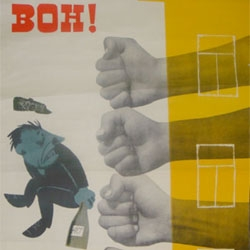 Great series of Soviet anti-alcohol posters.