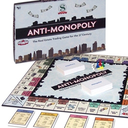 Introducing Anti-Monopoly. OBJECT OF THE GAME:  To be the richest competitor after all monopolists have been bankrupted or to be the richest monopolist after all competitors have been eliminated.