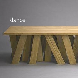 a table called Dance by Thai designer Duangrit Bunnag for ANYROOM