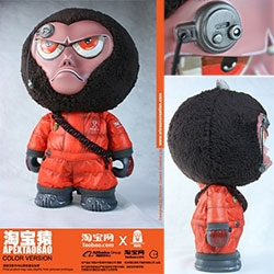 Apextaobao from Winston Ma and TaoBao - a brand-new Apexplorer vinyl format figure with plush hair!