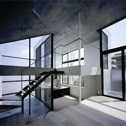 Knot house in Tokyo by Apollo Architects and associates.