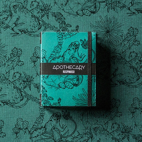"Apothecary packaging by The 6th. Great series of book like packages covered in stunning wallpaper patterns! ""Apothecary is a brand of beauty products 100% organic. The main products are soaps, all top quality with italian ingredients only."""