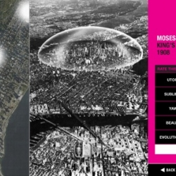 With the Museum of the Phantom City tool, Apple phone users can scout over 50 unbuilt architectural sites around the city with a feature that describes each proposed project through the architect's own notes.