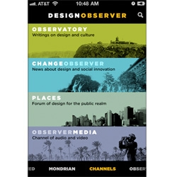 Design Observer launches an iPhone App!