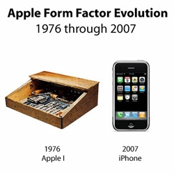 From the Apple I to the iPhone: the visual evolution of Apple design from 1976 to 2007