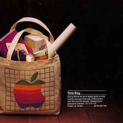 Did you ever ask yourself what a mail order gift catalog from apple looked like back in 1983? Well – here's the answer!
