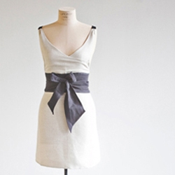 Stylish, heirloom aprons from IceMilk Aprons in Atlanta, packaged in mason jars!
