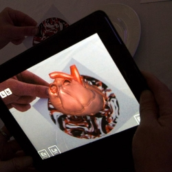 The Digital Dissection Dining Room, where augmented reality anatomical models pop up from your placemats! Fun project from Something & Son and Inition for the Lush awards for research into animal testing alternatives.