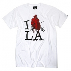 Archrival ~ fun i <3 LA tee... also in black... anatomically correct with sabers going through...