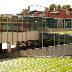The most challenging program for an architect is an architecture school. And JVA made it with the new Oslo Architecture School. Wish mine had a yard as cool as this one.