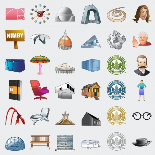 Curbed curates some Architecture Emojis!