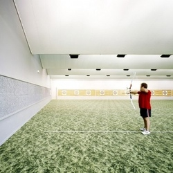 A stylish archery center in France, by Atelier Phileas.