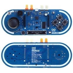 The Arduino Esplora is a microcontroller board that provides a number of built-in, ready-to-use sensors that can be programmed for various interactions including gaming.