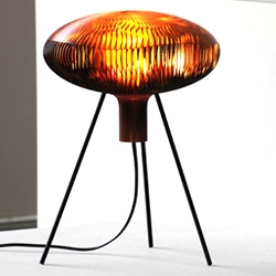 "Arik Levy's ""Russula.MGX' organic lamp design and name is inspired by mushrooms."
