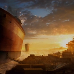 Ark is a short movie directed by Grzegorz Jonkajtys.  This animated movie, though short, it has an epic underlay. Visually stunning, sounds are crisp and storyline is phenomenal. Wait til the ending.