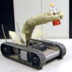 AIRarm - Inflatable Robot Manipulator Arm (AIR = Advanced Inflatable Robotics) by iRobot for DARPA