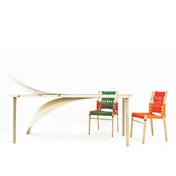 Art Marries Design Table by Arpan Patel.