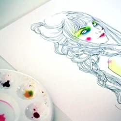 Video of Conrad Roset drawing a Musa in 8 minutes.