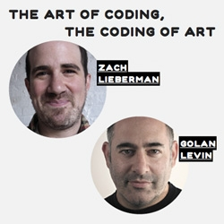 The Art of Coding, The Coding of Art is a conversation between Golan Levin and Zach Leiberman with Tyler Dorholt. These two minds expand the fields of art and coding by enriching them with consistently innovative and playful processes. Great read!
