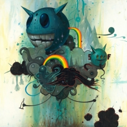 Jeff Soto is a visual artist from California who started out as a graffiti artist, and still is an active participant in street art.