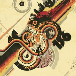 Grungy vector Art posters By Magnus Kjall at Click for Art