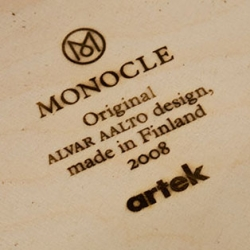 MONOCLE Magazine and Artek Furniture teamed up together for the launch of a stool in celebration of the magazine's one year anniversary. Avaialble in an edition of 60, it comes with a seat made from Finnish moose leather. Beautiful.