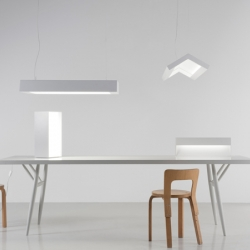 The White series by Artek are minimalistic lamps with a soft but bright light. Perfect for your living and working space.