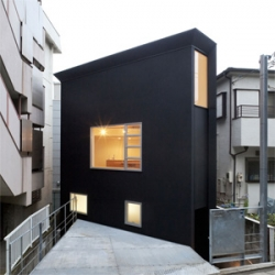 'OH house' by Japanese  architecture firm Atelier Tekuto.