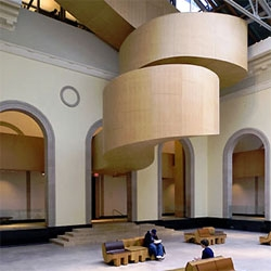 Frank Gehry redesigned the Art Gallery of Ontario (AGO) in his native city of Toronto.