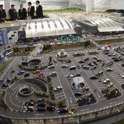 Miniatur Wunderland unveiled its $5 million miniaturized replica of the Hamburg airport that has 40 model aircraft take off and land, and 90 vehicles that move about runways aided by computers.