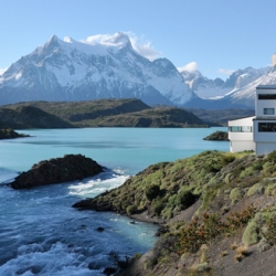 A travel report on an adventure through the Chilean side of Patagonia. Hotel designed by Germán del Sol