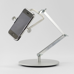 Articulate converts smartphones into articulating table lamps.