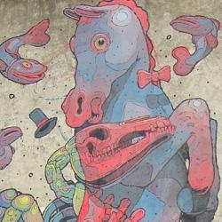 Spanish artist ARYZ has left an amazing new wall in Lisboa.