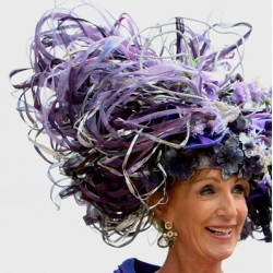 you've got to love the hats at ascot.  the nytimes captures some of this year's finest.
