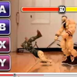 YouTube Street Fighter: YouTube's premier video game, totally interactive game in which YOU play.