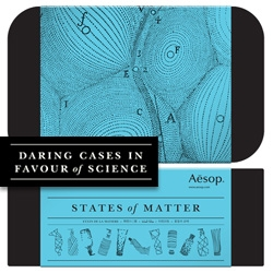 Aesop's Daring Cases in Favour of Science gift sets!  There is the Theory of Evolution, Accelerating Universe, States of Matter, Special Relativity, Laws of Motion, Centre of Gravity, and Celestial Mechanics. Great graphics!