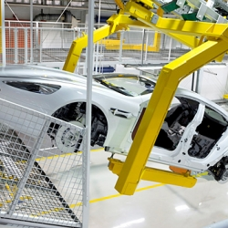 Discover the development and production of the Aston Martin Rapide in the new facility in Graz