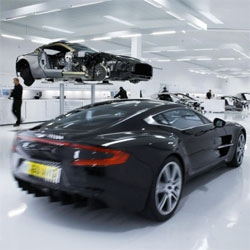 The Aston Martin One-77 stars in new episode of NatGeo's Megafactories. Great video and photo gallery of their assembly.