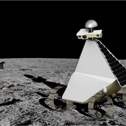 The third prototype for Astrobotic Technology's lunar robot has innovations that will enable it to survive the blistering heat at the Moon's equator, which is the robot's destination in May 2011 when it will visit the Apollo 11 site.