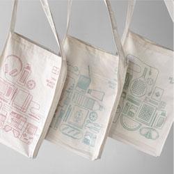 Beach bags from Atipus.