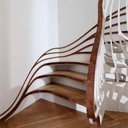 Alex Haw of Atmos creates gorgeous and sensous residential stairs.