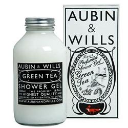 Aubin & Wills' perlman shower gel awesome packaging.