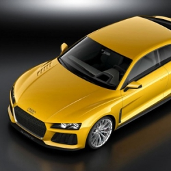 30 years after the legendary Audi Sport quattro was released, Audi comes up with the official successor. The Audi Sport quattro concept hat 700 bhp and his highly economical at the same time.