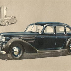 Audi 1939. Beautiful and beautifully scanned sales brochure.