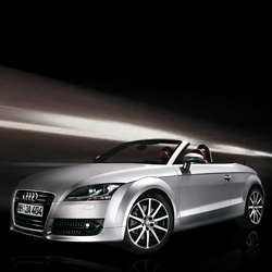 Ooooh Audi TT Roadster - check out the microsite - interesting/odd navigation - gorgeous car