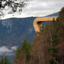 Aurland Lookout. By Todd Saunders &