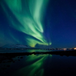 Amazing Timelapse of Aurora Borealis over Tromsø, Norway. Photography by Tor Even Mathisen.