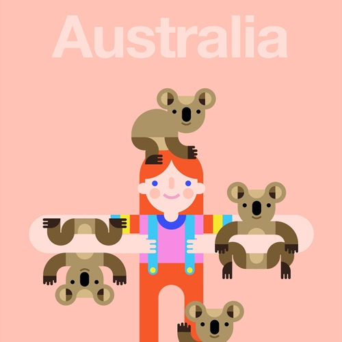 Australi-Aid has partnered with over 40 incredible artists to create a beautiful collection of postcards to support The Australia Zoo Wildlife Warriors and Australian Red Cross.